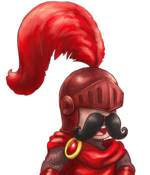 Red Knight from The Adventures of Red Knight